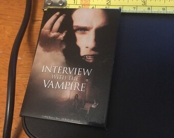 Vintage Pin Button: Interview with a Vampire