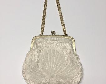 Vintage Beaded Kisslock Bag