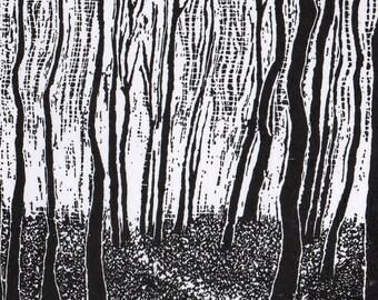 Woodland Path – Greetings Card