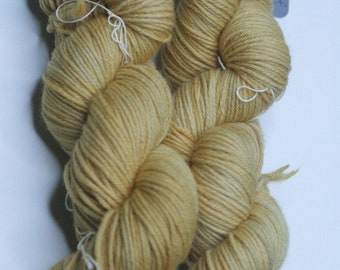 Hand Dyed Worsted Weight Yarn 100% merino - Harvest Moon