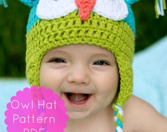 Fall Hat Crochet Pattern, Hat Crochet Pattern, Baby Hat Crochet Pattern, Daisy Cottage Designs Crochet Pattern