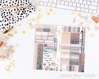 Dusk TN STANDARD Weekly Kit // 120+ Matte Planner Stickers // Perfect for your Standard Size Traveler's Notebook // TNS0650