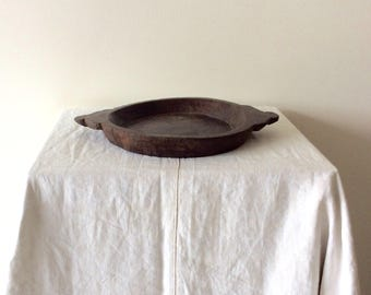 Wooden Tray Parat One Chapati Tray Serving Tray Listing is for One