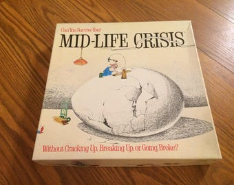 Mid-Life Crisis Vintage Board Game from 1980s 2-6 Players