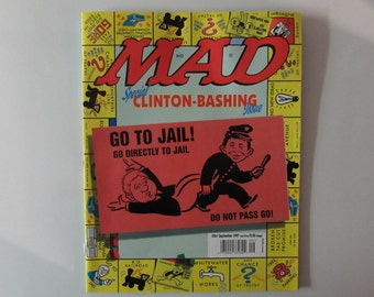 Mad Magazine September 1997 Bill Clinton