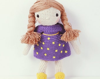 Crochet doll -  Sisters from the stars