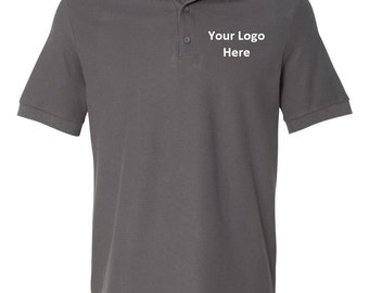 Men's Custom Embroidered Polo Shirt--More Colors