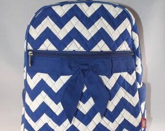 Monogrammed Chevron  backpack, Toddler Backpack, Personalized backpack, Back pack, Chevron Backpack, diaper bag Backpack, diaper bags