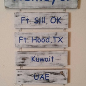 Genial Military Duty Stations, Military Deployment Stations, Military Home Decor,  Military Wood Sign