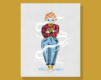 Barb (Stranger Things) Print