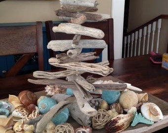 Driftwood Christmas Trees (table top size)