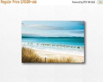 ON SALE beach canvas print coastal canvas wrap nautical decor ocean photography beach 12x12 24x36 fine art photography canvas print canvas w