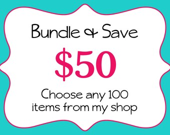 Commercial Use-Bundle and Save-Bulk Discount-Digital Papers-Clipart-Bundle-Sale-100-Dollar Items-Digital Download