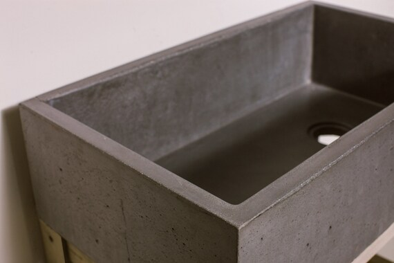 how to make a concrete kitchen sink concrete farmhouse kitchen sink basin 9476