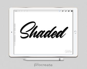 Procreate Brush: Shaded