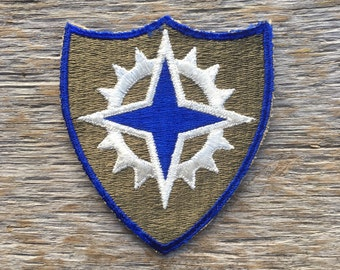 Vintage World War II U.S. Army 16th Corps Patch.