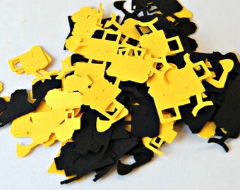 Construction Themed Birthday Party Confetti - Dump Truck Party Decorations (100 pieces)