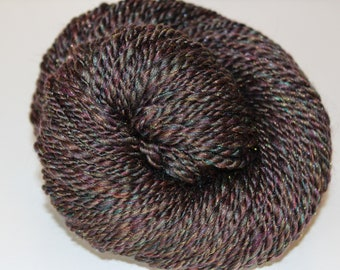 Handspun Bulky Weight Yarn, Merino Wool Blend