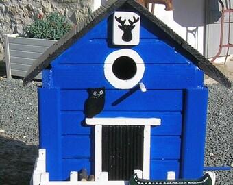 Birdhouse, bird feeder, garden birds, birdhouse