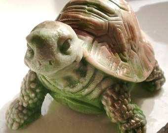 Turtle Soap, Tortoise Soap, Tanner the Turtle, Land Turtle Soap, Snapping Turtle Soap, Box Turtle Soap