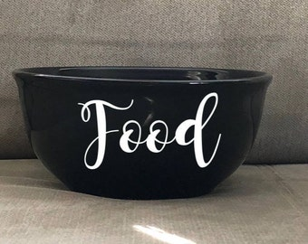 Pet Bowls Personalized // Dog Bowls // Cat Bowls // Personalized Dog Bowls // Personalized Cat Bowls // Food Bowl
