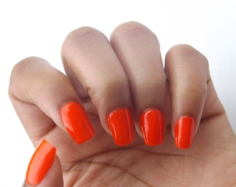 Orange Nail Polish- 14 Carrot