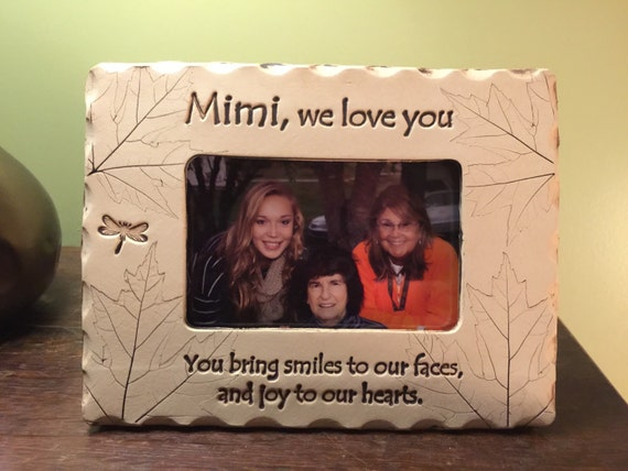 Mimi frame mimi we love you picture frame