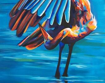 Egret - Giclee print