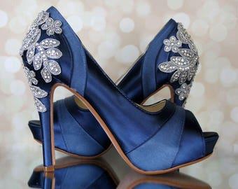 Design Your Custom Wedding Shoes by EllieWrenWeddingShoe on Etsy