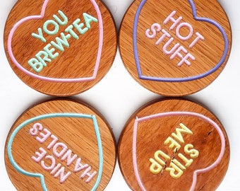 Love Heart Coasters