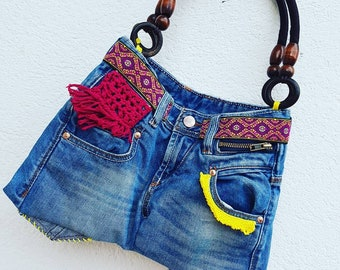 Crazy Jeans Bag