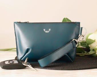 Teal Mini Sienna Clutch Bag *Limited Edition*