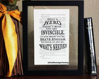 Percy Jackson • Being a Hero doesn't mean you're • Book quote art • Mark of Athena • Annabeth Chase • Poseidon • camp halfblood • Riordan