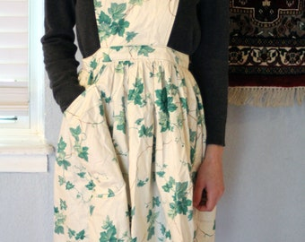 Vintage Ivy Apron