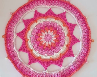 Matahari Mandala Crochet Pattern