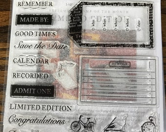 S1109 Limited Edition - CTMH My Acrylix Stamp Sets