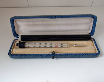 Thermometer DEP Maxima Ab coster Rotterdam Nr 8000 early 20th century with box