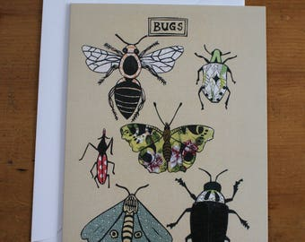Bugs Greeting Card