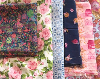 Cotton Lawn Fabric Bundle