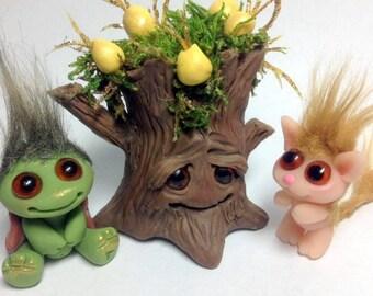 OOAK Faerie Trollie Fruit Tree Trollfling Troll by Amber Matthies