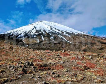 Mount Ngauruhoe Digital Photo Download