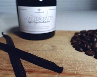 Vanilla Latte Coffee Scrub.