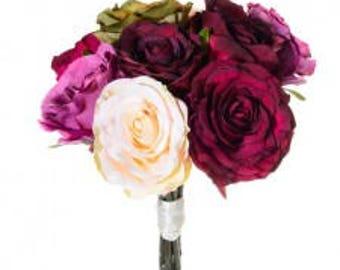 Beautiful silk rose bunch