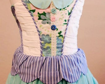 Lucy Star Girls Dress Sewing Pattern