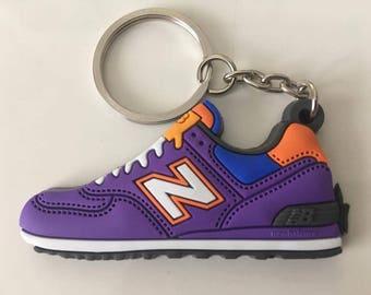 New balance Keychain ML 574 purple keychain