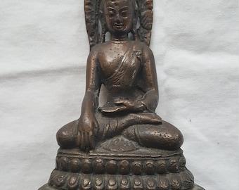 "1800's Bronze Hindu Statue 5"" High x 3"" Across"