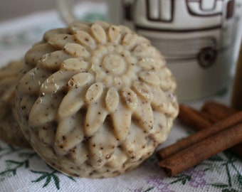 Cinnamon Latte Scrub Bar