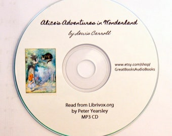Alice's Adventures in Wonderland, by Lewis Carroll {Audio Books, Vintage Books, Children's Books, Homeschool Favorite}