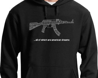 Know Your Enemy Hoodie (Rage Against The Machine) // Trump RATM Quote Politics Music Geek