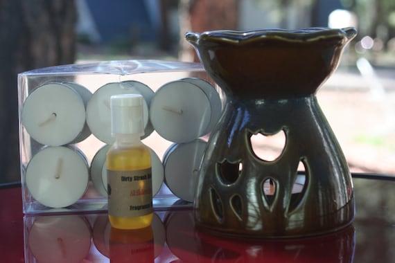 Fragrance Burner Gift Set Vanilla Bean Supreme